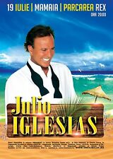 JULIO IGLESIAS 2014 BUCHAREST CONCERT TOUR POSTER - Latin, Latin pop Music