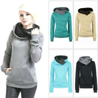 Women's Casual Hoody Hoodie Sweater Hooded Pullover Sweatshirt Jumper Coat Tops