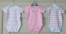 Primark Early Days 3 Baby Girl Vests - Size 0-3 Months - Used VGC