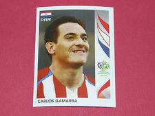 118 CARLOS GAMARRA  PARAGUAY PANINI FOOTBALL GERMANY 2006 WM FIFA WORLD CUP