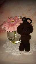 "OOAK Handmade * 5"" Poodle Puppy with Strap* Needle Felted by Artist Scuznyuki"