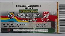 TICKET LS 10.9.2013 Rumänien - Türkei