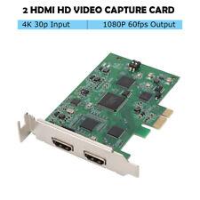 PCI-e HD Video Recorder 4K 30P HDMI Live Media Encoder Conference Capture Card