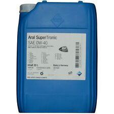 Aral SuperTronic 0W-40 20 Liter Motorenöl BMW Longlife-04 229.31 229.51
