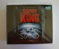 The Stand: by Stephen King - Unabridged Audiobook - 37CDs