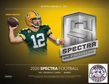 Peyton Manning 2020 Panini Spectra Football Full Case 8Box Break
