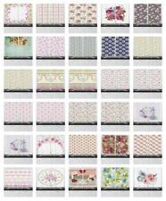 "Shabby Chic Kitchen Curtains 2 Panel Set Window Drapes 55"" X 39"" Ambesonne"