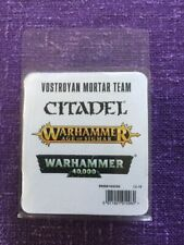ON STOCK! Vostroyan mortar team miniature from Games Workshop