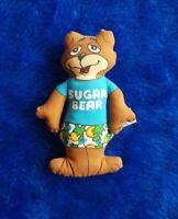 Vintage Sugar Bear Stuffed Animal Mini Plush General Mills Cereal Premium