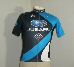 Gary Fisher Subaru Cycling Full Zip Jersey Adult SMALL BONTRANGER SRAM Rock Shox