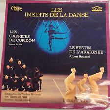 Les Inedits De La Danse Albert Roussel Jenz Lolle CY686 33RPM Records 031717RR