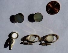 TRUE VINTAGE GOLD & MOTHER OF PEARL TRIO SETS