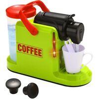 Macchina Caffe Giocattolo Bambini Funzionante ad Acqua con Cialde e Bicchierino