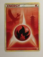Pokemon Card HeartGold SoulSilver Ho-Oh Fire Energy 116/123. FREE SHIPPING!