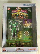 ✅Mighty Morphin Power Rangers Auto Green Tommy Action Figure In Hand