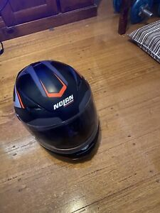 nolan motorcycle helmet, size Large, N60-5 model good condition, used once