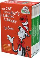Dr Seuss The Cat in the Hats Learning Library Collection 20 Books Box Set NEW