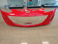MAZDA 2 MY10/MY11 5/2010 - 2011 FRONT BUMPER BAR***PAINTED RED COLOUR CODE A4A**