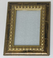 "Antique  Gold  5"" x 7"" Ornate Accent Vintage Photo Picture Frame"