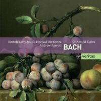 ANDREW PARROTT/BOSTON EARLY MUSIC - J.S.BACH-ORCHESTERSUITEN;2 CD 27 TRACKS NEU