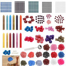 100x Vintage Sealing Wax Tablet Pill Bead for Envelope Document Wax Seal Stamp