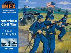 Imex 1/72 Union Artillery American Civil War # 501