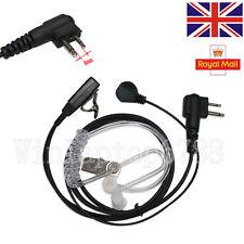 UK Stock SIA 2 Pin Security Covert Earpiece Headset For Motorola Radio PTT CP040