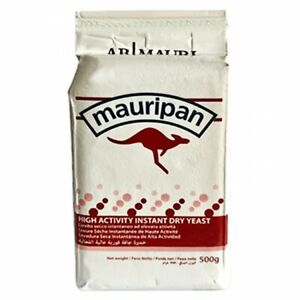 Mauripan high activity instant dry yeast 500g - For Bread Bakers Bakery - Italy