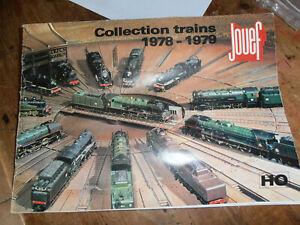 vends catalogue train jouef 1978