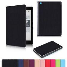 Flip Slim Smart Leather Shell Case Cover For 6 Inch Kobo Aura Edition 2 eReader