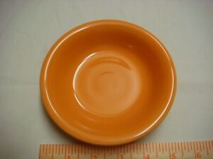 Fiestaware Tangerine Fruit Bowl Color - Retired Color