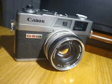 Canon Canonet Ql-17 G-Iii 35mm Rangefinder Film Camera, Used, Clear viewfinder
