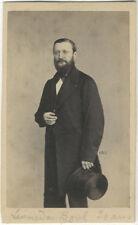 Photo Giorgio Sommer Carte de Visite Cdv Naples Napoli Italia Vers 1860