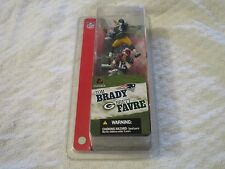 McFarlane NFL Series 1 Sports Picks Tom Brady & Brett Favre 3 inch Two Pack New