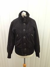 Womens Next Quilted Jacket - Uk12 - Black - Great Condition
