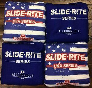 Slide Rite Pro Cornhole Bags ACL Stamp Allcornhole