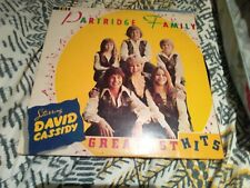 GREATEST HITS  THE PARTRIDGE FAMILY STARRING DAVID CASSIDY Vinyl Record