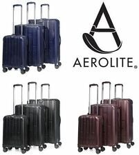 Hard Lightweight Spinner (4) Wheels Luggage Sets