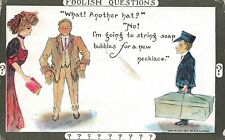 Cobb Shinn~Foolish Questions~Husband to Wife~Another Hat?!~Delivery Boy~Huge Box