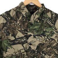 Vintage Liberty Realtree Camo Jacket Mens Size M Lightweight Elastic Cuff USA