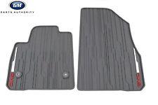 17-18 GMC Acadia Premium All Weather Front Floor Mats 84038457 Dark Ash Gray OE