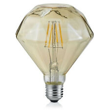 Trio Leuchten 902-479 LED Vintage Filament E27 4W braun Diamant Warmweiß 2700K