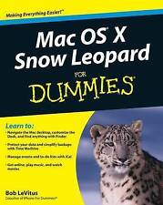 Mac OS X Snow Leopard For Dummies, LeVitus, Bob, New, Paperback