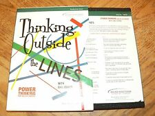 Gail Cohen Thinking Outside The Lines Power Thinking 4-Disc Audio CD Set 2001