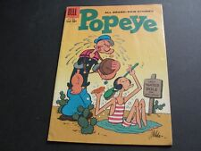 "POPEYE and the ""Black Ghosk!"" Vol.1 #50 -1959-10 cent Silver Age Comic Book."
