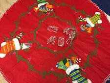 5 Piece Glass Nativity Set with Christmas Blanket