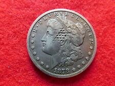 1878 CC Morgan dollar, dimples on obverse, nice reverse, Ungraded.