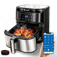Proscenic 1700w Alexa 空气炸锅电动热风烤箱 oilless 炊具 XL 5.8 夸脱