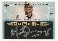 Marty Turco 03-04 Upper Deck Premier Collection Signatures Autograph