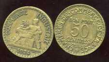 50 ct  1924  CHAMBRE DE COMMERCE